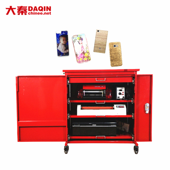 High Speed Stable 3d Flatbed Printer for Mobile Phone Sticker Printing
