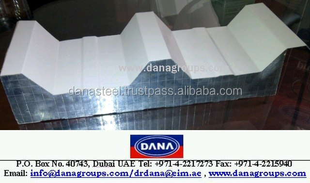 PU Sandwich wall panels , roof panel , ceiling panel supplier in UAE , Dubai , Africa , Oman , Qatar