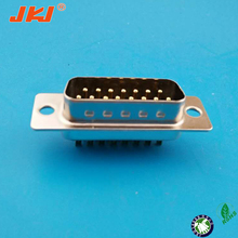 D-SUB 15P Connectors,Solder Cup, machine pin, Male type