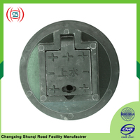 Hot sale stainless steel equipment round watertight manhole cover for tank