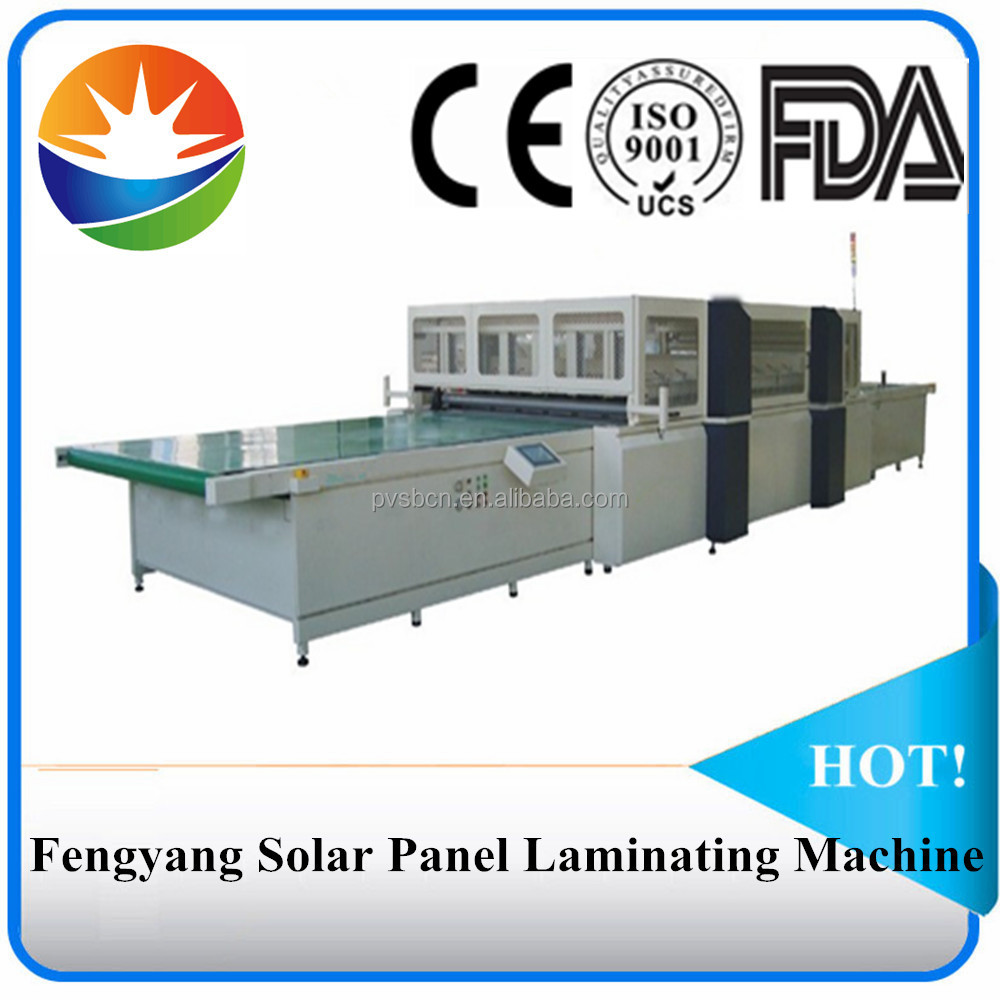 Professional fully-automatic solar panel laminating machine popular in India