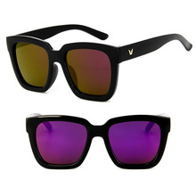 DLL5111 Wholesale Men Large Frame Mirror Lens Fashion Eyewear