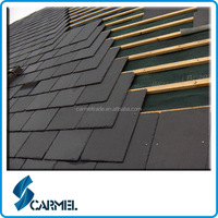 Natural Stone Black Floor Roof Slate Tile