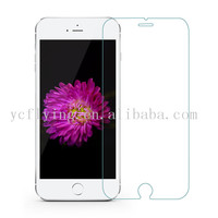 Wholesale ultra-clear cell phone screen protector 0.3mm 2.5D 9H tempered glass screen guard for iPhone 6 Plus
