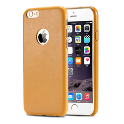 LZB PU Leather back cover for iphone6 case