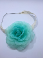 Factory Wholesale baby girl elastic flower headband for gift