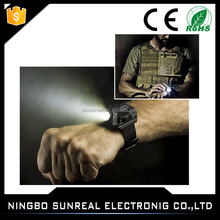 LED watch,Rechargeable Portable Watch LED Wrist Watch Flashlight Torch Light USB Charging Wrist Tactical Torch