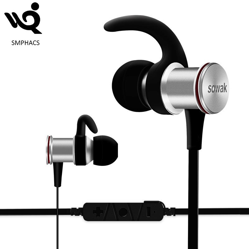 Produit chaud Aimant Métal In-Ear Sport Bluetooth Écouteur Sans Fil Intelligente Stéréo Bluetooth Casque - ANKUX Tech Co., Ltd