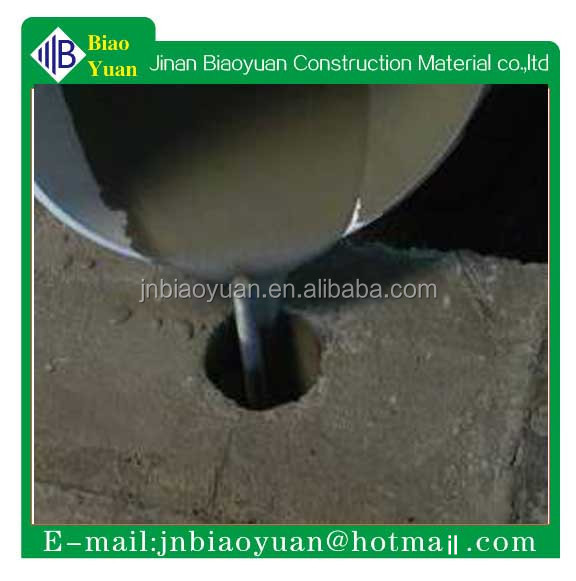 high strength cementitious and resinous grouting materials for structural repair