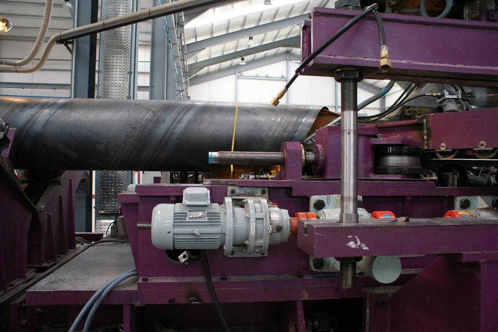 spiral pipe making line/spiral pipe mill