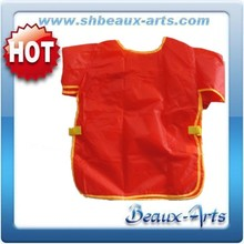 wholesale kids painting color waterproof aprons for painting