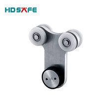 China hot sale sliding door roller, stainless steel glass door handware for sliding glass door
