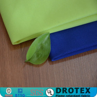 Twill / plain cotton non flammable lining fabric / fr lining cloth mill