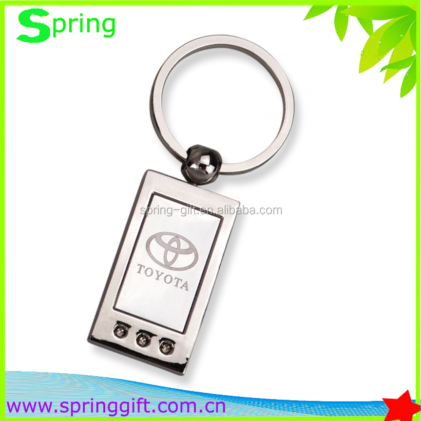 famous auto logo brand key chain trademark key chain