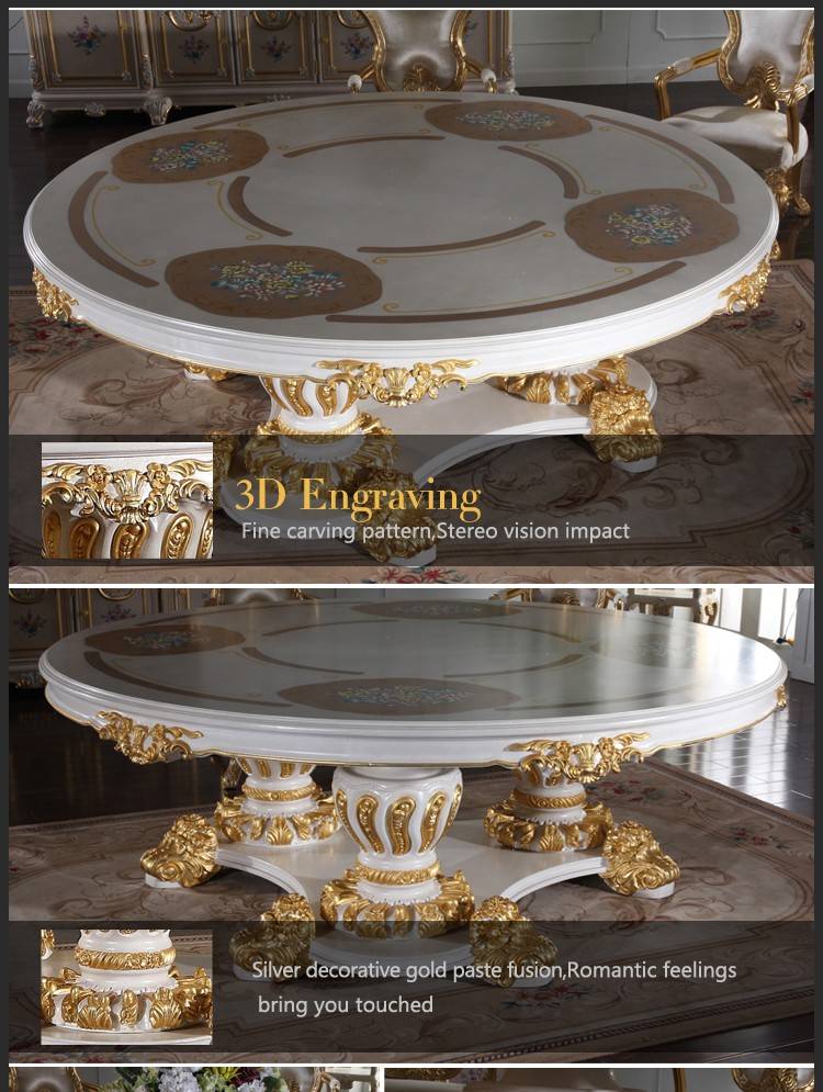 european antique furniture -classic italian antique dining table