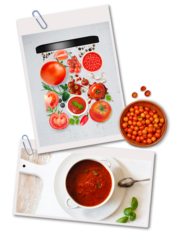 Halal tomato puree for pizza sauce