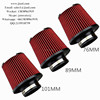 high flow racing performance air intake universal conical filter /sport air filter /tuning parts
