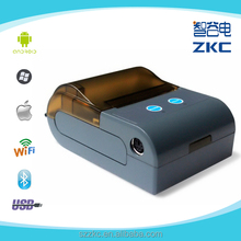 New 2 Inch Best wireless Portable Mini Mobile Thermal Printer for Android/IOS, use for taxi, supermarket, stores, banks