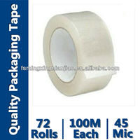 Cartoon Packing Tape (Bopp Film Coating with Acrylic and Paper Core)