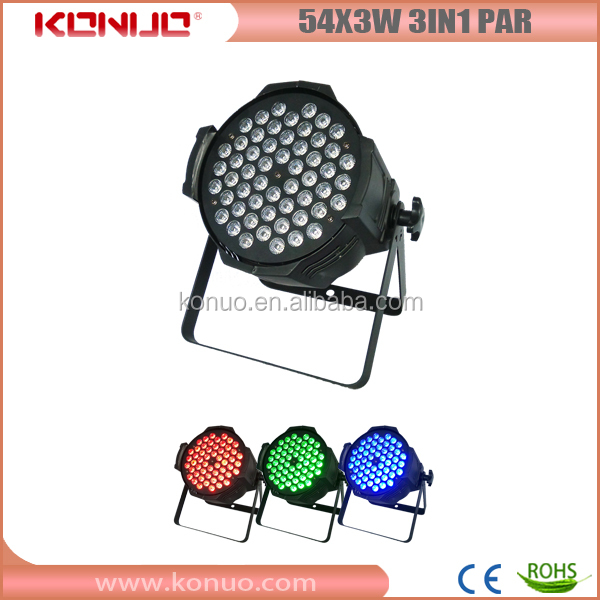Best Star 54x3W 3in1 rgb pro led lighting