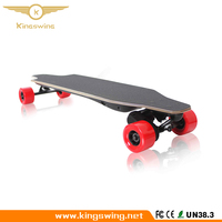 Remote Control 4 Wheels Electric Skateboard Longboard LG Battery 2000 watts Double Motor Skate Board with Wireless Controller