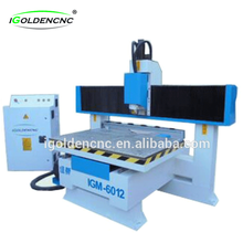 IGM 6012 mini moving table cnc router , small wood cnc router for sign making