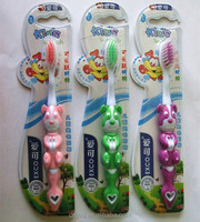 soft bristle & Professional design toothbrush for kids & dog model kids toothbrush