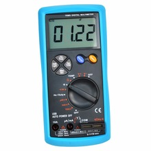 USB Interface Multimeter Tester Test True-RMS AC/DC Current Voltage Resistance Capacitance Diode Temperature Duty Cycle Meter