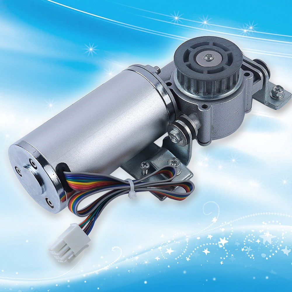 Hi Torque 24V DC Automatic Door Brushless Motor For Small Glass Door With Oval Shape