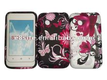 Flower Printing TPU Phone Case Covers For Sony ST21i Xperia Tipo