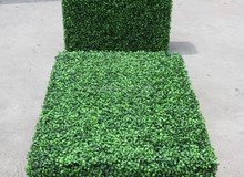 2016 New Artificial Plastic Boxwood Hedges for indoor outdoor decoration cheap artificial grass