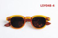 popular plastic frame wood/bamboo polarized sunglasses with free OEM logo engraving