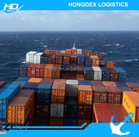 cheap and safe sea freight guangzhou forwarding agent to door in Singapore