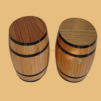2015 3L high quality product used oak wooden wine barrels wholesale