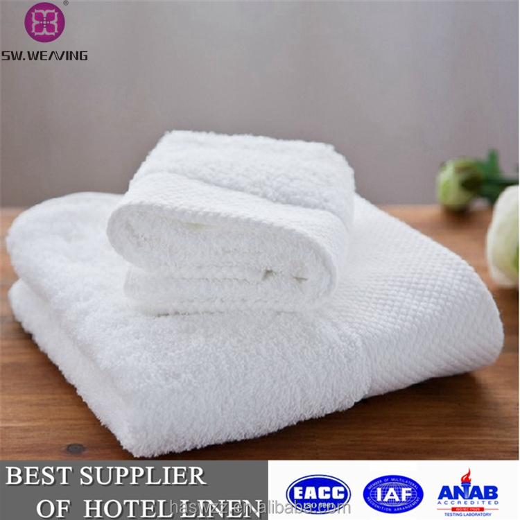 Direct buy china 100% cotton hotel towel set bath towel
