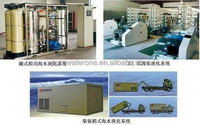 Mobile sea water desalination system / Containerized sea water desalination plant