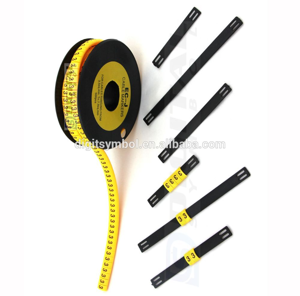 Cable Markers Product : K cable markers type marker oval flat