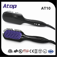 Fashion 2016 Top 10 Hair Straighteners Brush Ceramic Hair Flat Iron