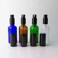 100ml aluminum spray bottle with kind of colour painting processing Guanghzou factory.