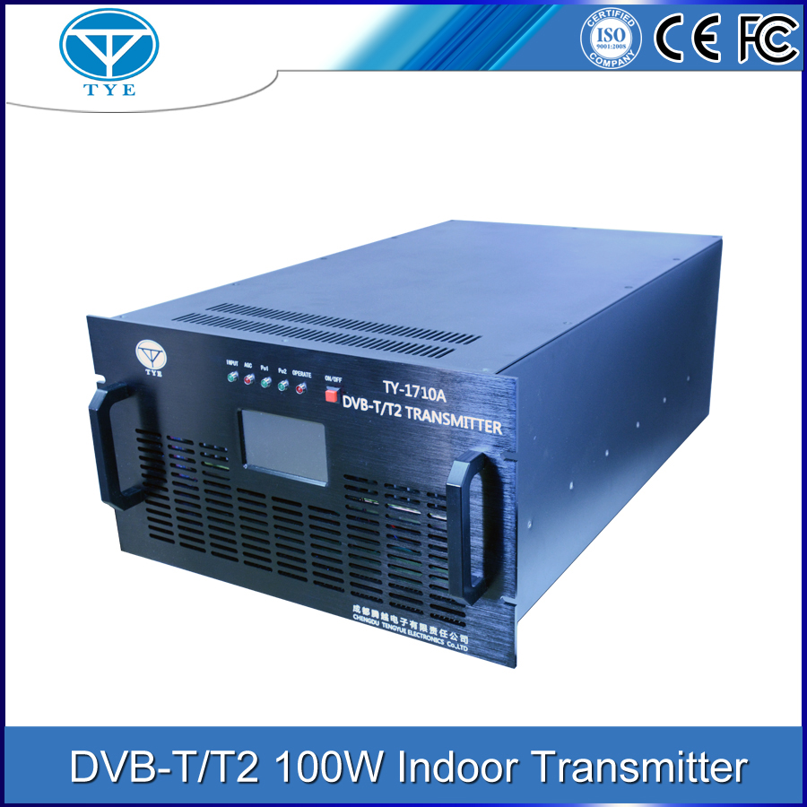 indoor broadcast video transmitter dvb-t 100W