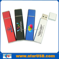 Bulk 2gb usb flash drive for promotional gift in plain rectangle stick style