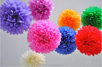 Tissue paper folding artificial flower for party decoration