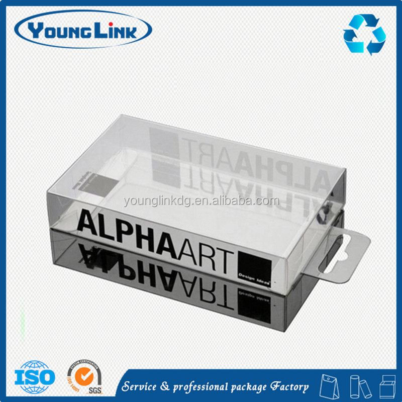 folding clear plastic soap packaging boxes