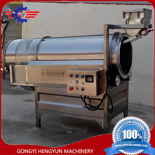 Industry Automatic Beans Maize Rice Corn Puff Snack Flavoring Machine