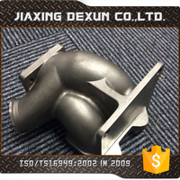 OEM stainless investment casting, auto exhaust manifold, exhaust pipe