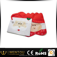Popular Mr & Mrs Santa Claus Christmas Kitchen Chair Covers