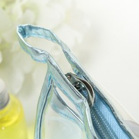 Clear Vinyl Waterproof Storage Makeup Bags