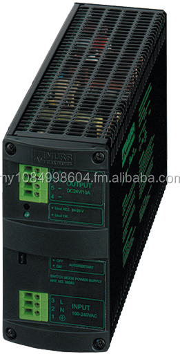 MCS Power supply 1-phase, primary switched IN: 90-265VAC OUT: 24-28V/20ADC