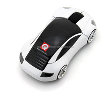 Custom computer wireless race car shaped mouse for promotion