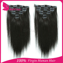 Double Wefts Single Drawn 100% Brazilian Hair divine remi hair extensions